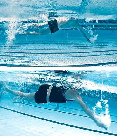 Технические ошибки в плавании