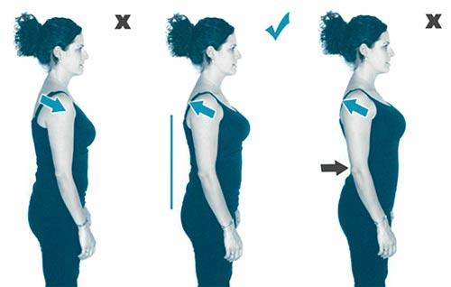 Какие нужно делать упражнения для осанки